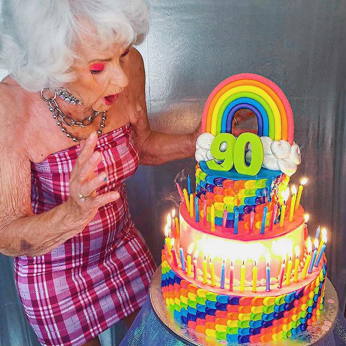 The Worlds Coolest Grandma: 88-Year-Old Star Baddie